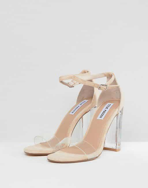 c4ae8ad9507 Clear Block Heeled Sandals – Shoes